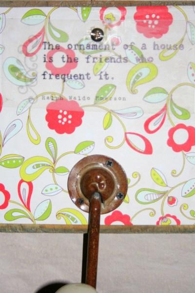 DIY Inspirational Wall Hooks