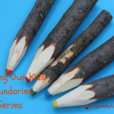 Teaching Our Kids Boundaries Series