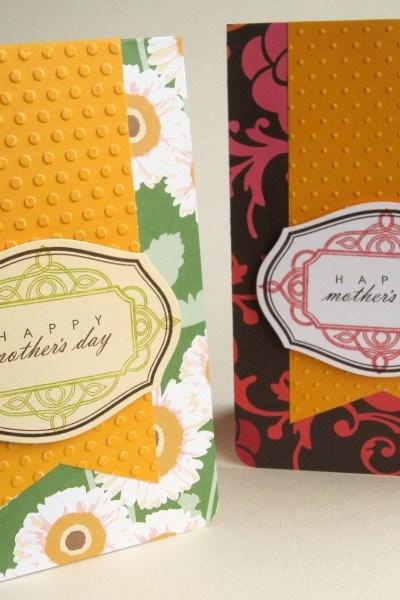 Lovely Handmade Mother's Day Cards