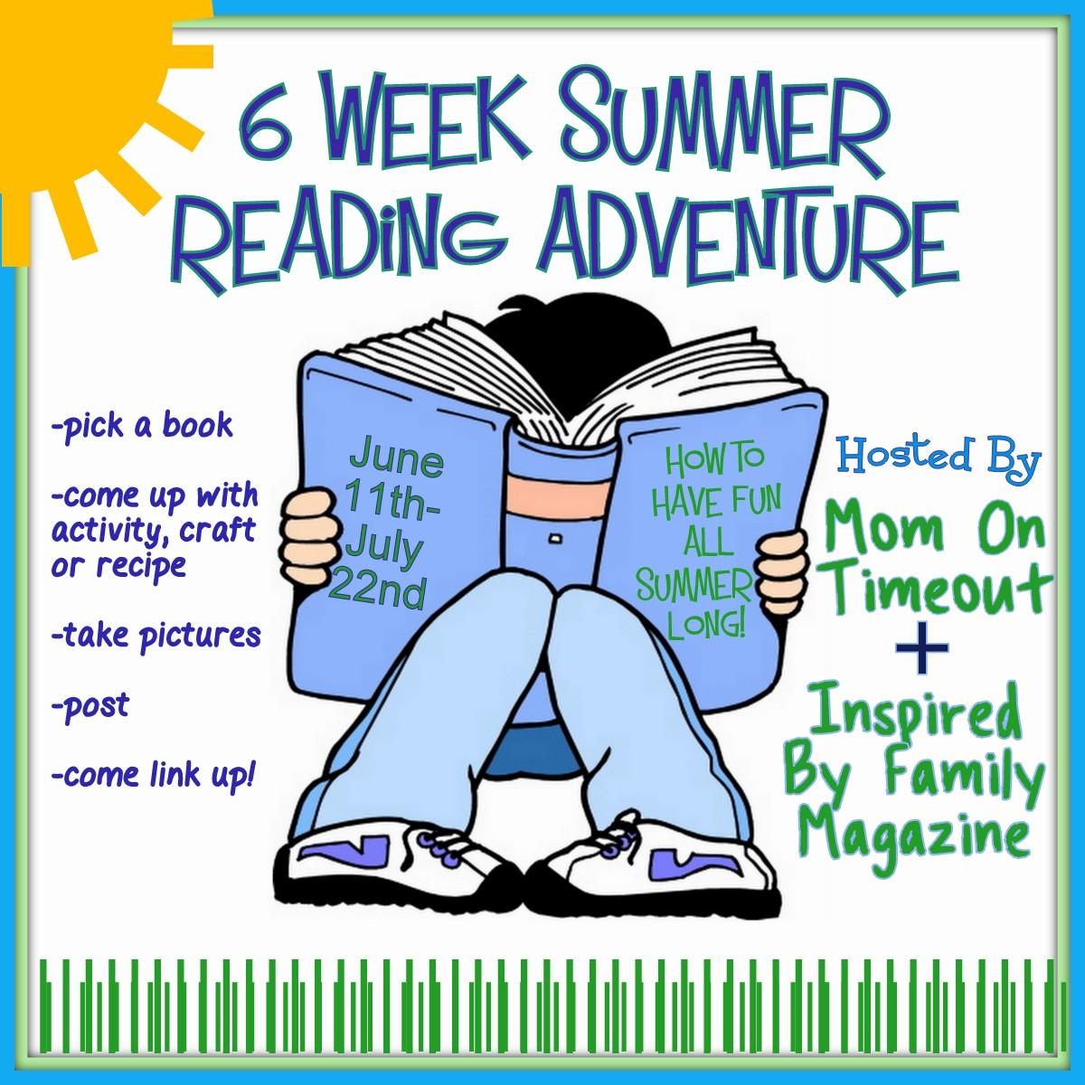6 Week Summer Reading Adventure