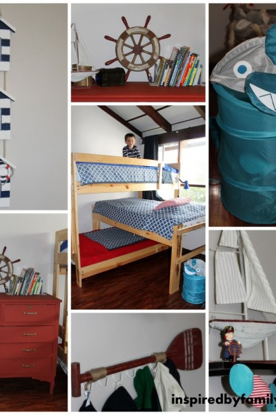 Nautical or Pirate Boys Room On a Budget
