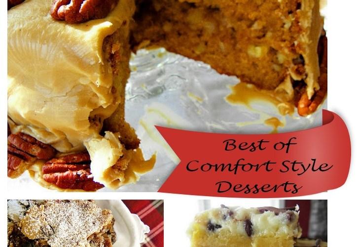 Top 3 Comfort-Style Desserts