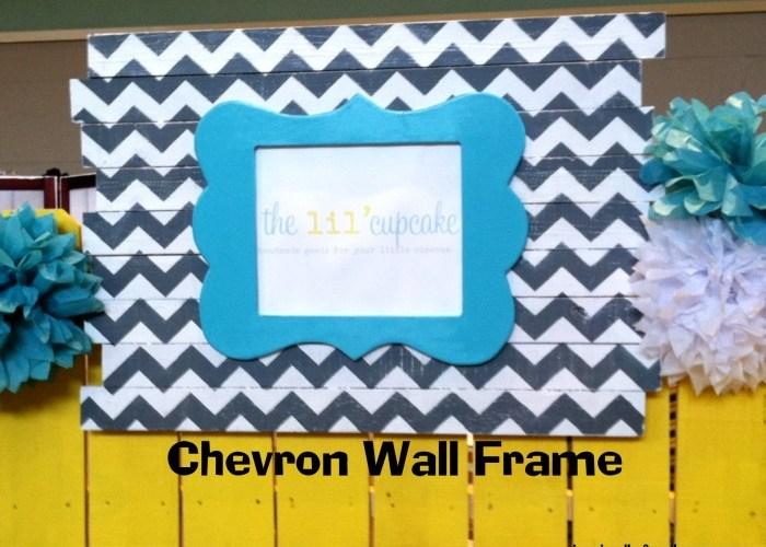 Chevron Wall Frame