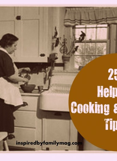 25 Must Know Cooking and Baking Tips