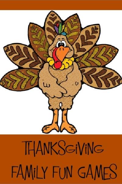 10 Thanksgiving Family Fun Games
