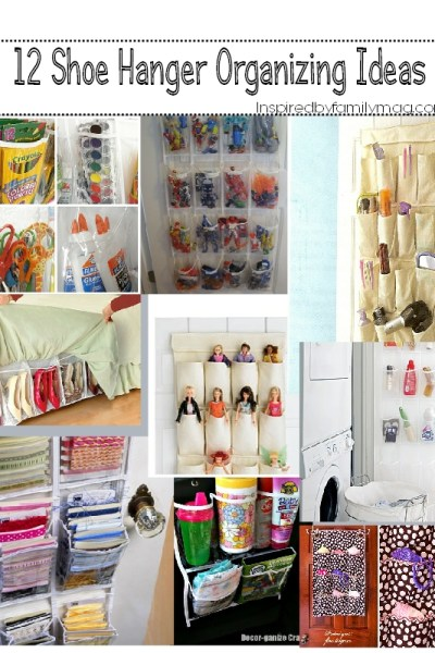 Organize Your Home: 12 Ways to Declutter Using Pocket Organizers