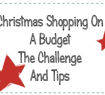 Christmas Shopping On a Budget Challenge and Tips