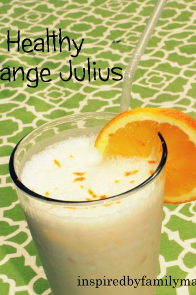 Healthy Orange Julius Smoothie