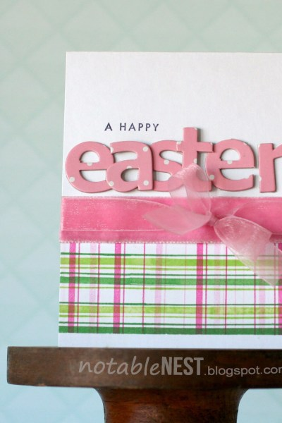 DIY Handmade Easter Card