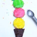 fun summer recipes: ice cream rice krispies