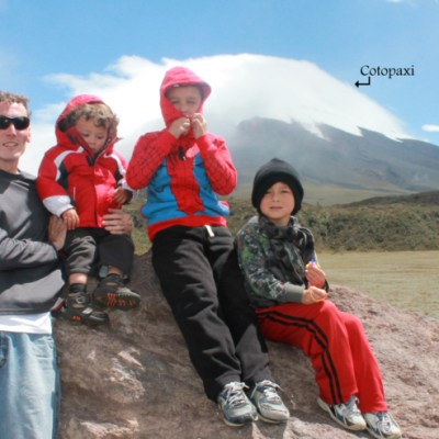 Exploring Cotopaxi Volcano in Ecuador with Kids