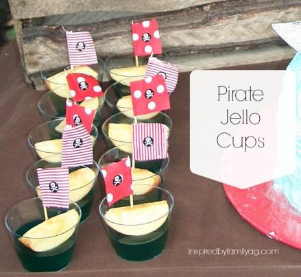pirate jello cups