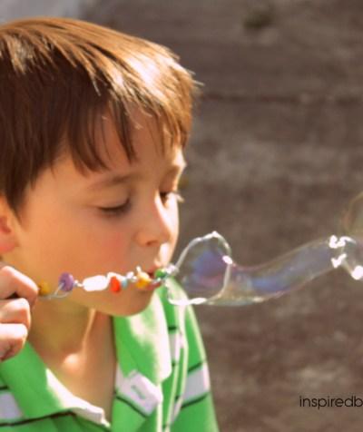 DIY Bubbles Solution & Magical Wand (Kids Gift Idea)