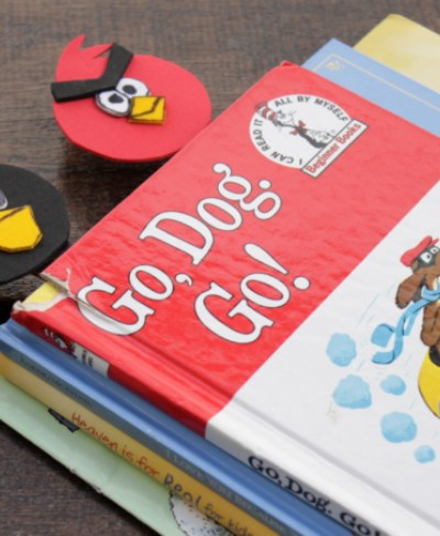 Angry Birds Craft: Bookmarks for Kids