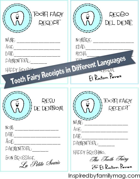 tooth fairy receipt 2
