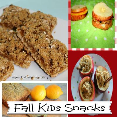 Fall Kids Snacks & Link Up