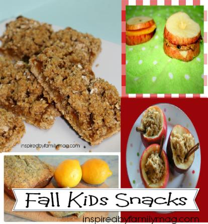 fall kids snacks