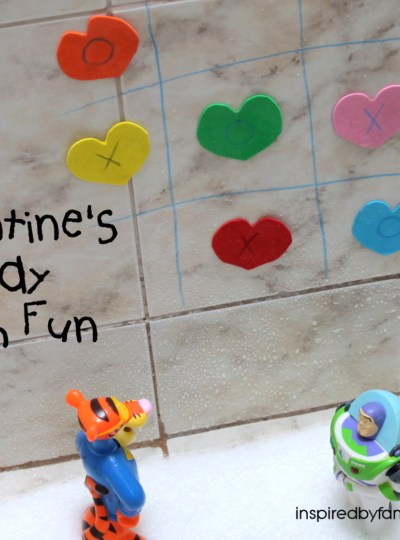 Valentine's Day Kid Activity: Bath Fun