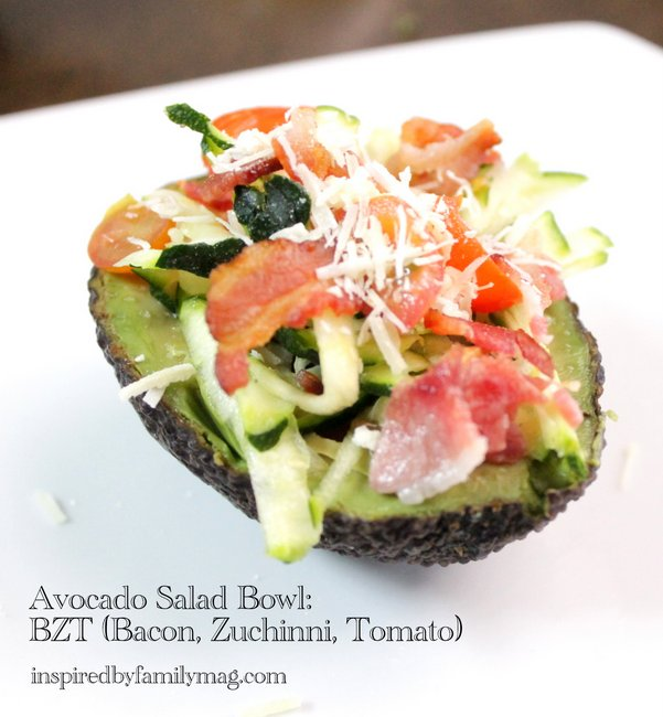 avocado salad bowl