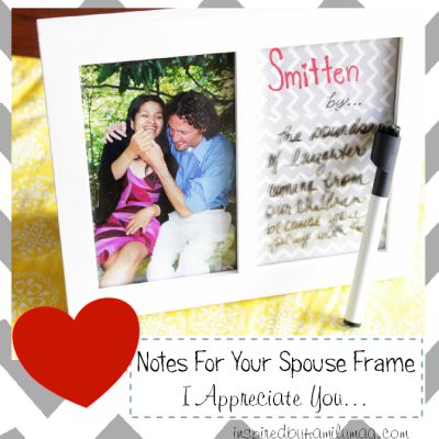 DIY Valentine's Day Gift: Love Notes Frame
