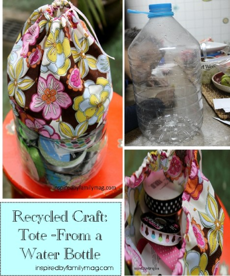 recycled craft water bottle