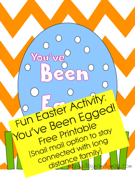 You've been egged printable