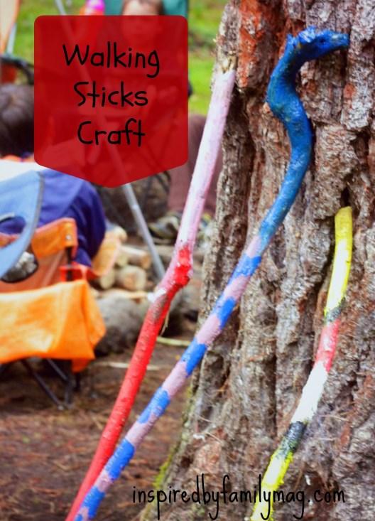 walking sticks craft