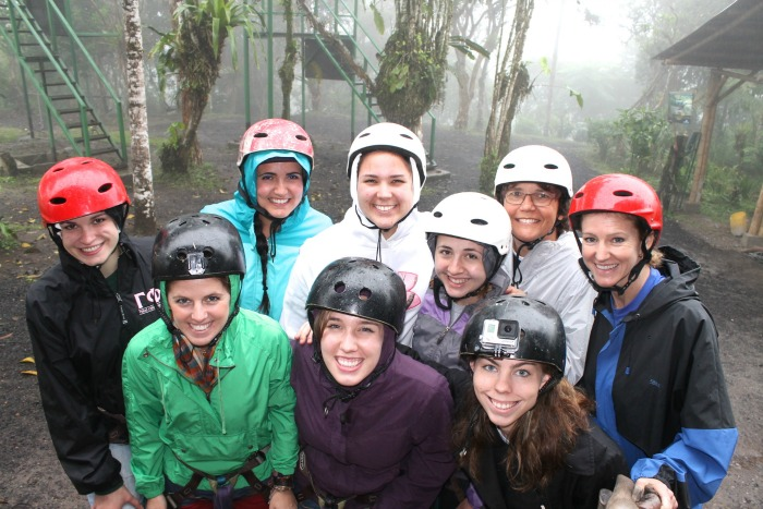 zip lining in mindo