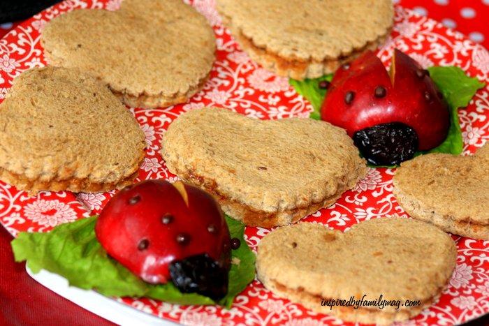 easy ladybug food
