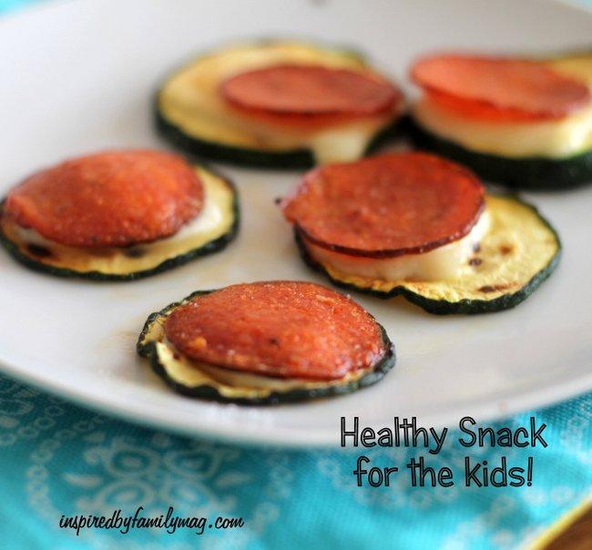 zucchini bites healthy snack for kids