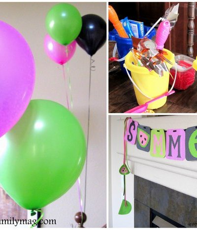 Summer Vacation Countdown: Family Dinner & Activity