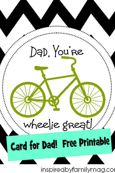 Father's Day Card {Free Printable}