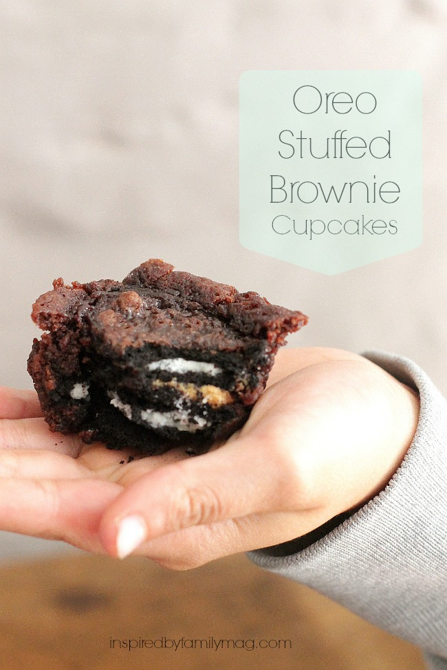 oreo stuffed brownies 2