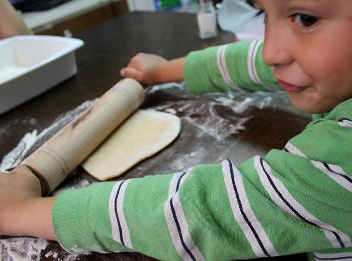 cooking with kids ravioli