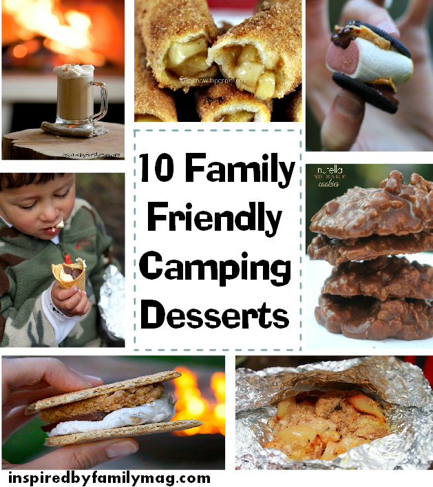 camping desserts