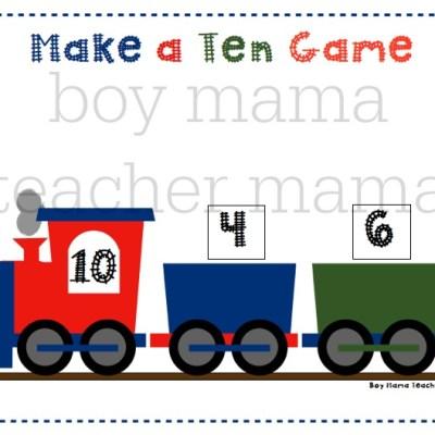Preschool Math Activities & Games