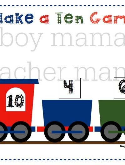 Preschool Math Activities & Games