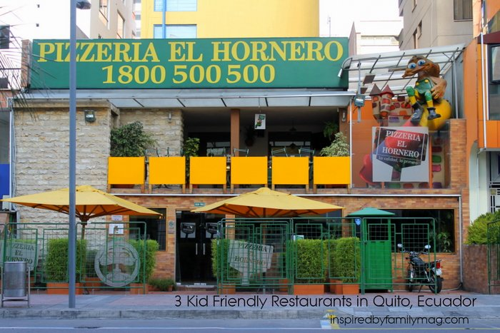 kid friendly restaurants quito ecuador