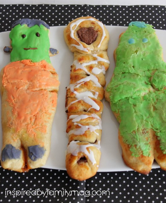 frankenstein, mummies & zombie bread