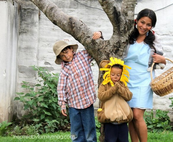 easy wizard of oz costumes