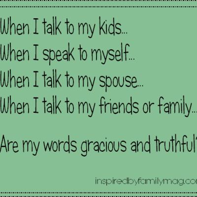 How I Speak to Myself