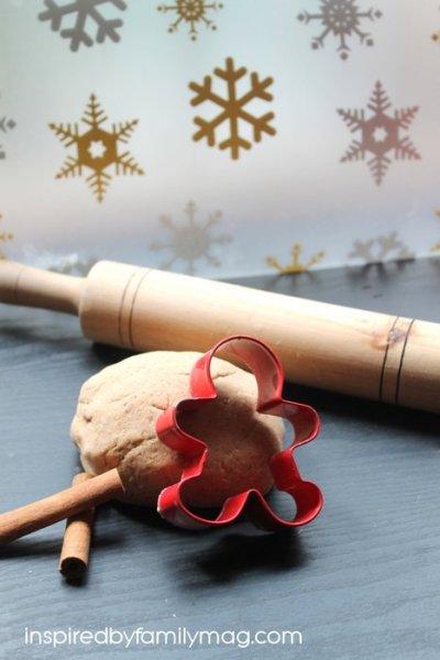 Cinnamon Salt Dough Ornaments