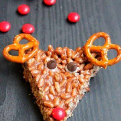 Christmas Fun Food: Reindeer Rice Krispies