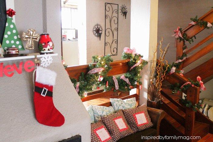 easy christmas home decor