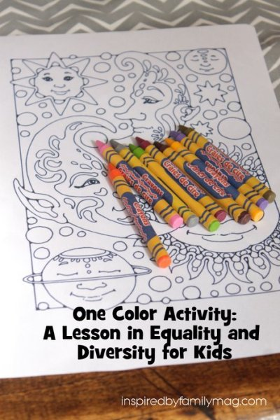 A Lesson in Diversity and Equality for Kids
