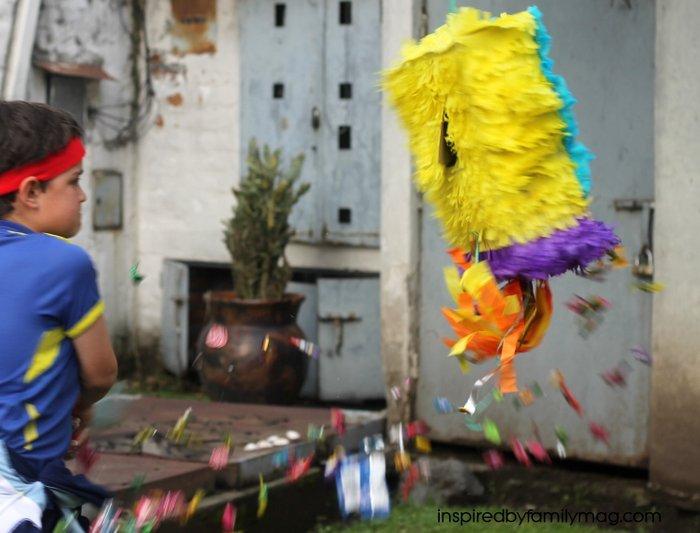 ninja party piñata