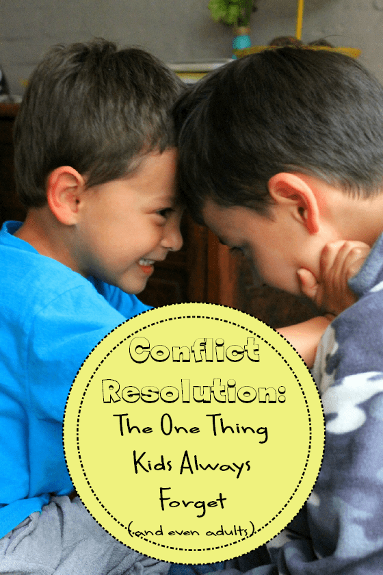conflict resolution for kids