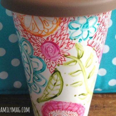 My Souls Cry to Create: DIY Painted Mug