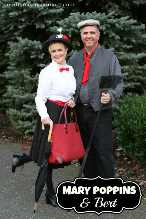 mary poppins and bert costume