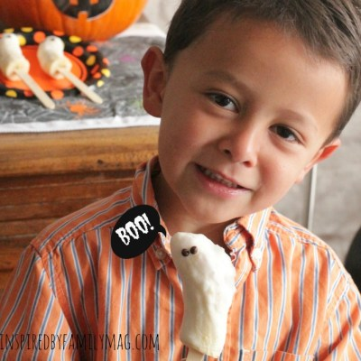 Healthy Halloween Treat: Boo-nanas